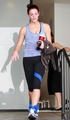 Ashley leaving gym in Studio City (September 23rd 2010) - twilight-series photo