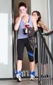 Ashley leaving gym in Studio City (September 23rd 2010) - twilight-series photo