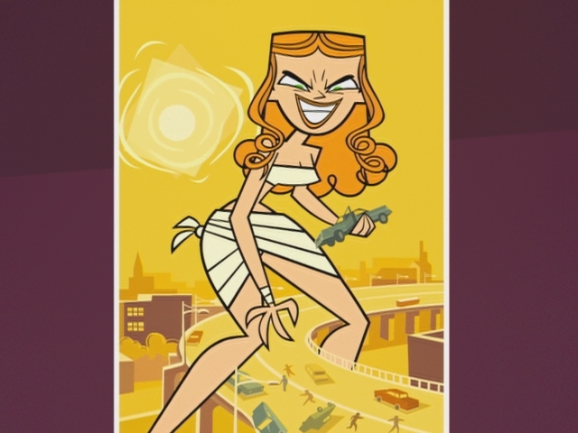 Attack Of The Fifty Foot Izzy Total Drama Island Photo
