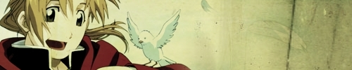 Alphonse Elric fondo de pantalla entitled Banner maybe