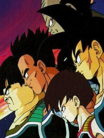 Bardock and all of his comrades.