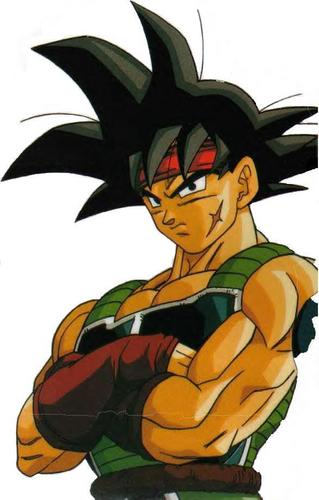 Bardock crossing his arms