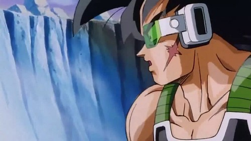 Bardock looking at a great light!