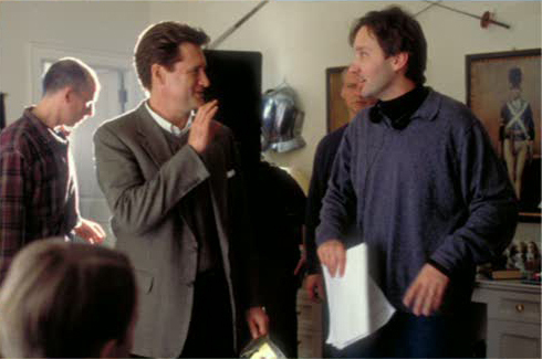 Behind the Scenes: Bill Pullman & Burr Steers