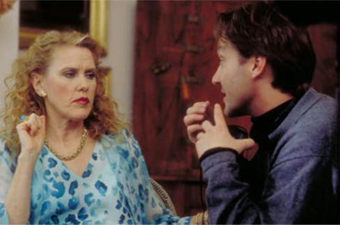 Behind the Scenes: Celia Weston & Burr Steers