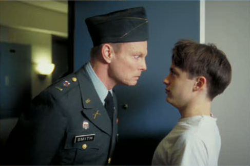 Igby Goes Down wallpaper with a green beret and regimentals called Behind the Scenes:  Kieran Culkin & Bill Irwin