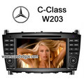 Benz CLC/Benz C-Class W203 factory OEM radio car DVD GPS Navigation TV - mercedes-benz photo