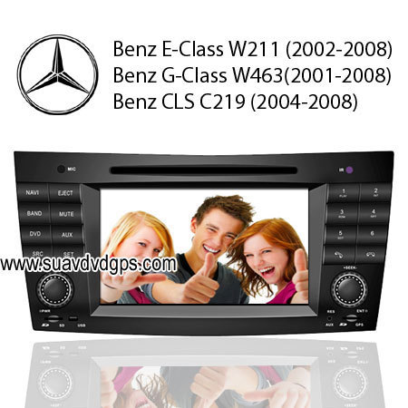 Benz E-Class W211,G-Class w463,CLS C219 Car DVD Player GPS TV - mercedes-benz Photo