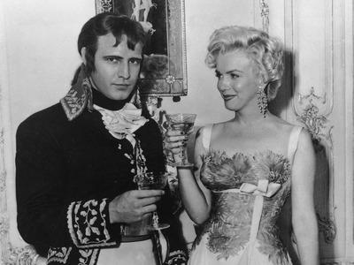 Brando and Monroe