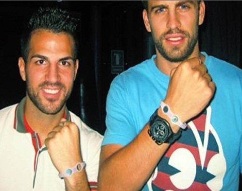 Cesc Fàbregas & Gerard Pique