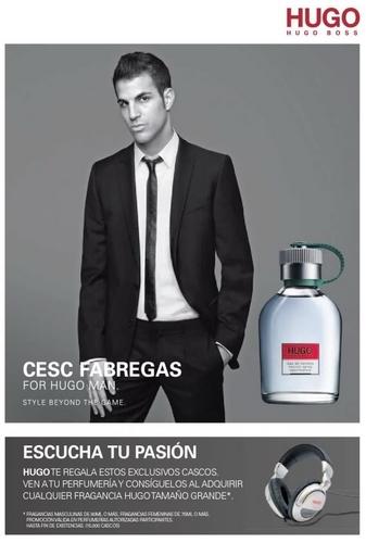 Cesc Fabregas for Hugo Boss