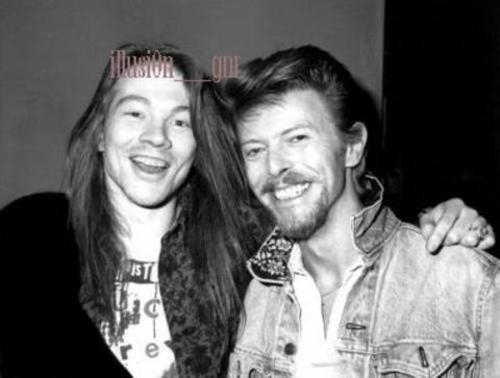 David Bowie,Axl Rose