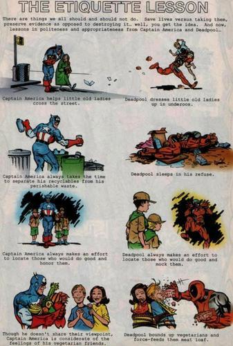 Deadpool's Etiquette