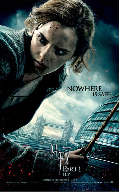 Deathle hallows character banner