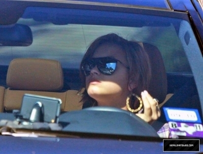 Demi out in Studio City