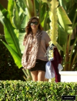 Demi out in Toluca Lake