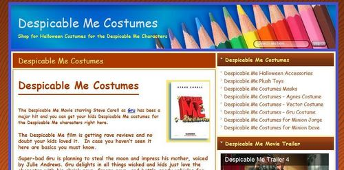 Despicable Me Halloween Costumes  - despicable-me Screencap