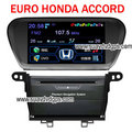 EURO HONDA ACCORD stereo radio OEM Car DVD player TV bluetooth GPS - honda photo