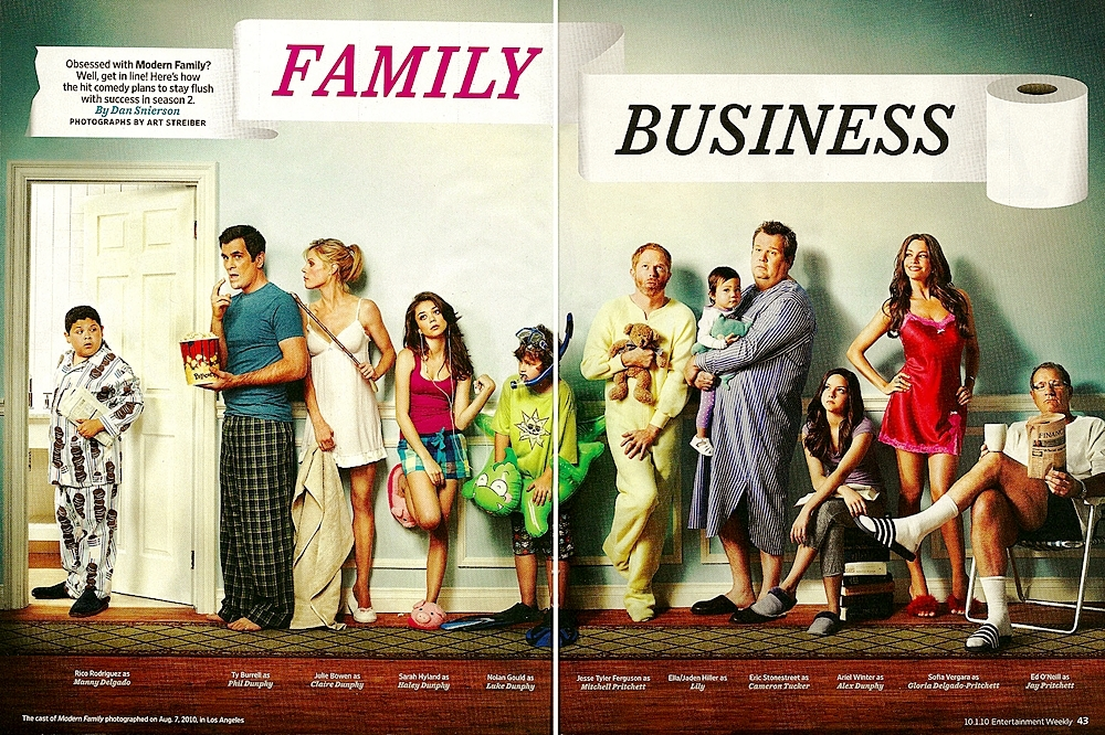 modern family vs leave it to