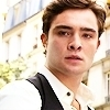 Ed Westwick تصویر containing a portrait entitled Ed