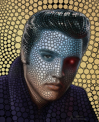 Elvis Digital Art