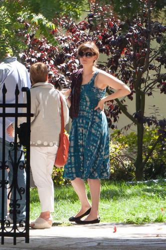 Emily Deschanel and David Hornsby at Their Wedding Reception