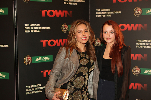 Evanna Lynch attends Irish premiere of The Town