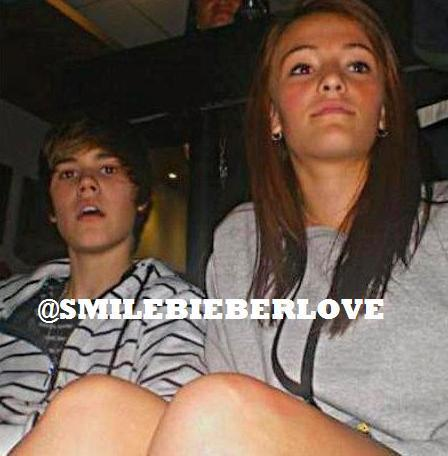 Exclusive pic : Justin and his ex