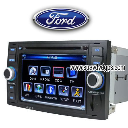 ford focus c s max car dvd player tv bluetooth gps navi. Black Bedroom Furniture Sets. Home Design Ideas