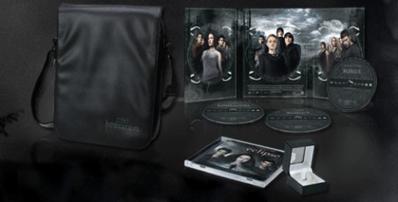 French Version of The Twilight Saga 3-Disc Set Featuring Twilight, New Moon, and Eclipse!