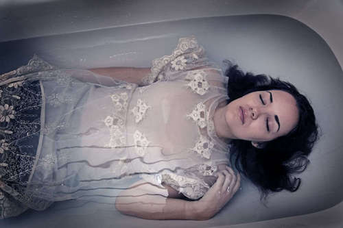 Girl In Bath - deviantart Photo