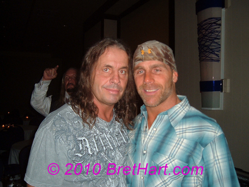 HBK & Bret Hart - shawn-michaels Photo