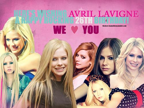 Happy Birthday to Avril!!