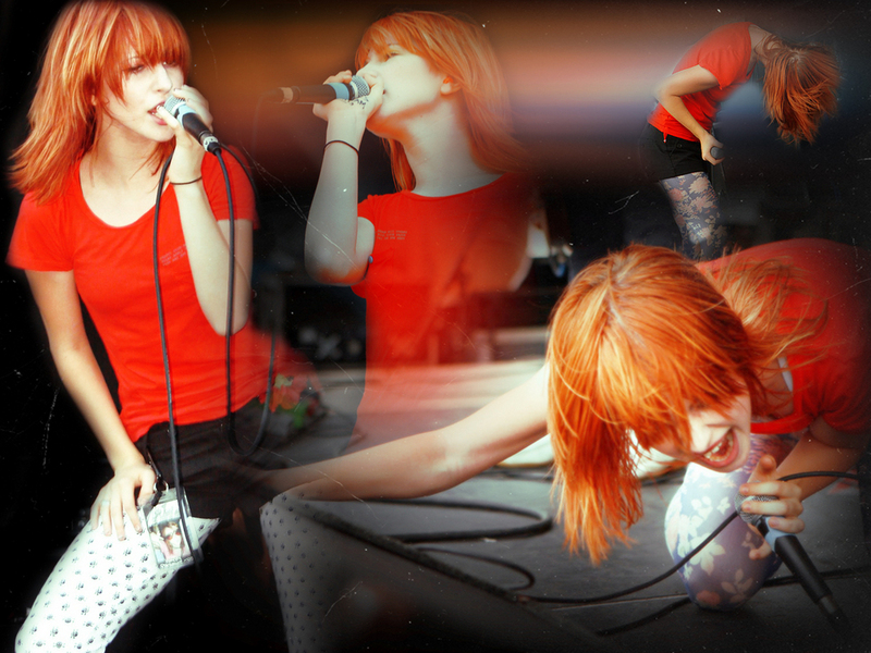 paramore hayley williams wallpaper. Hayley Williams of Paramore