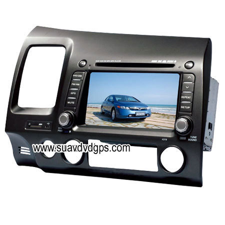 Honda CIVIC factory OEM radio Car DVD Player GPS Navi RDS,bluetooth - honda Photo