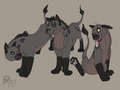 Hyenas as a Lions - hyenas-from-lion-king fan art