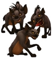 Hyenas in Kingdom of Hearts