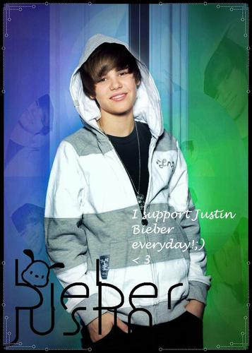Justin Bieber wallpaper possibly containing a hood titled I support Justin Bieber everyday!;) < 3