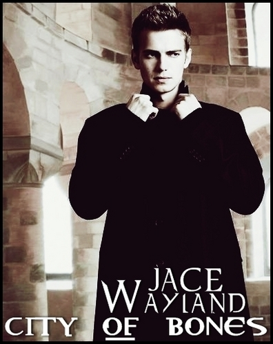 Mortal Instruments wallpaper with a business suit entitled Jace Wayland & Clary Fray