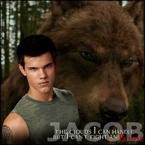 Twilight Series wallpaper titled Jacob Black.