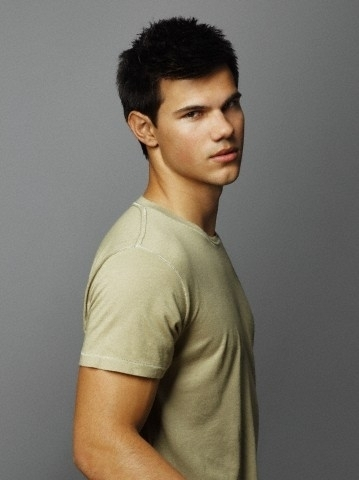 Taylor Lautner kertas dinding with a portrait titled James White for Entertainment Weekly, 2010