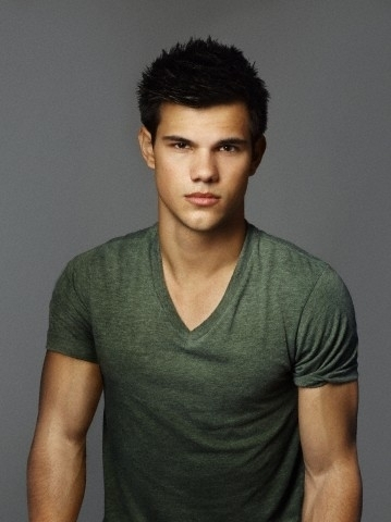 Taylor Lautner wallpaper probably with a jersey called James White for Entertainment Weekly, 2010