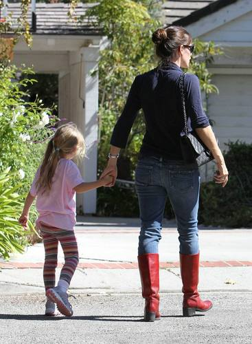 Jen & viola out and about 9/24/10