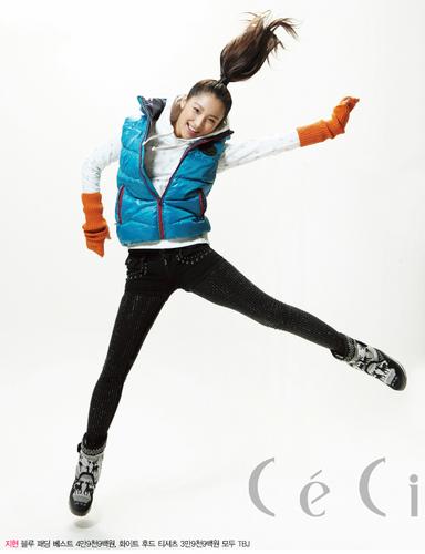 Jihyun for Ceci