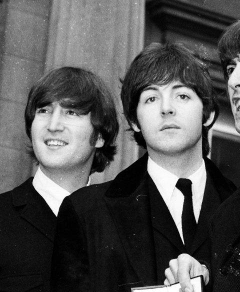 Lennon McCartneyYoung John Lennon And Paul Mccartney