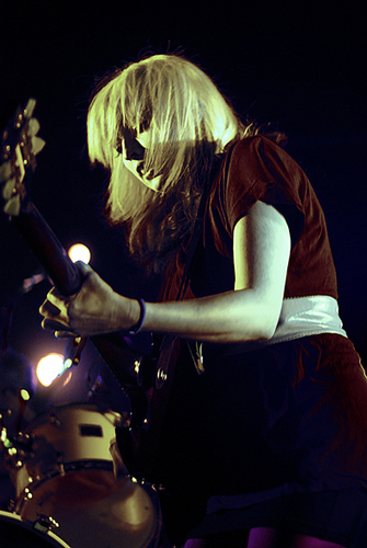 Katie White of The Ting Tings