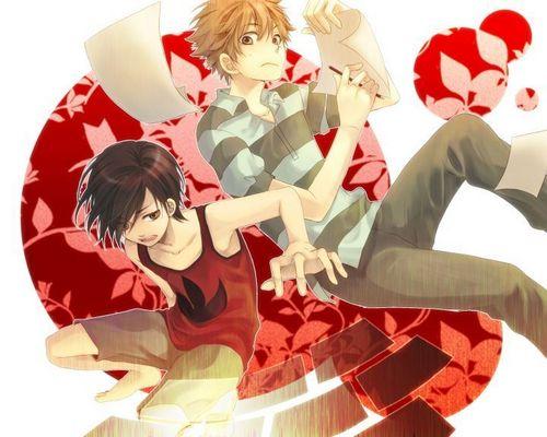 Kenji and Kazuma