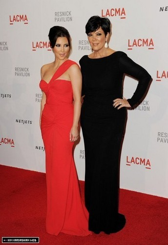 Kim & Kris @ LACMA Resnick Pavilion Opening Gala