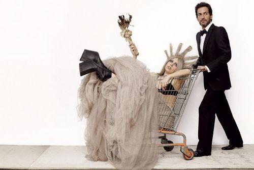 Lady GaGa 의해 Mario Testino