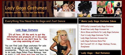 Lady Gaga Costumes and Fashion